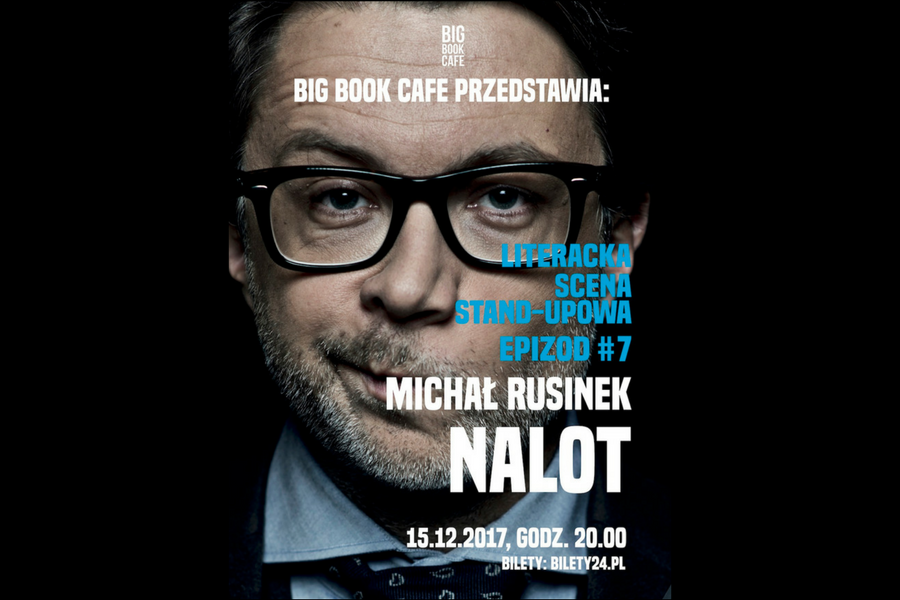 Michał Rusinek w big book cafe